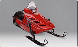 yamaha snowmobile history