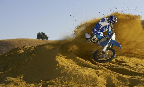 Yamaha YZ450F: Radically different