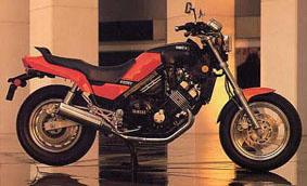 FZX 750 Fazer: the concept instead of a V-max 750.